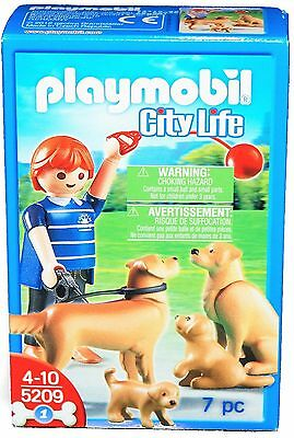 PLAYMOBIL 5209 - Golden Retriever-Familie NEU / OVP