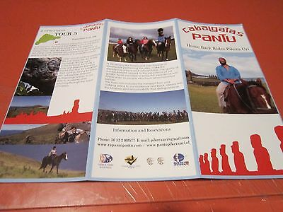 Brochures Of Mysterious Easter Island And Copy Of A Print