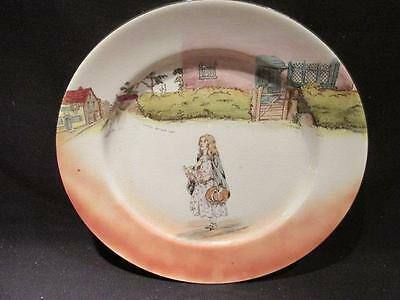 """Little Nell Royal Doulton Vintage Series Ware 10"""" Plate #D2973 Dickens Ware"""