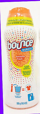 1 Bounce Bursts OUTDOOR FRESH In-Wash Scent Booster Laundry Clothes