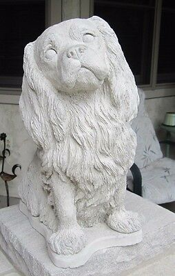 Concrete Cavalier King Charles Spaniel  Statue Or Use As A Monument