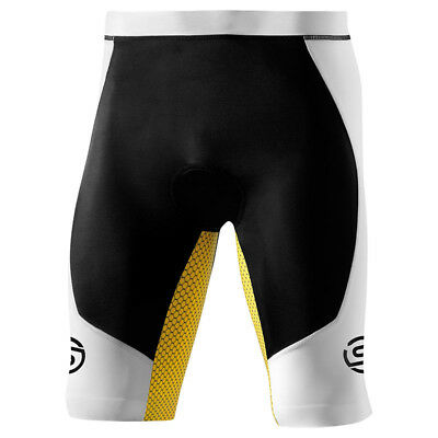 Skins TRI 400 Men's Compression Shorts Black/White XS