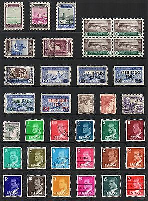 SPAIN and COLONIES Stamp Collection MINT USED Ref:QD558