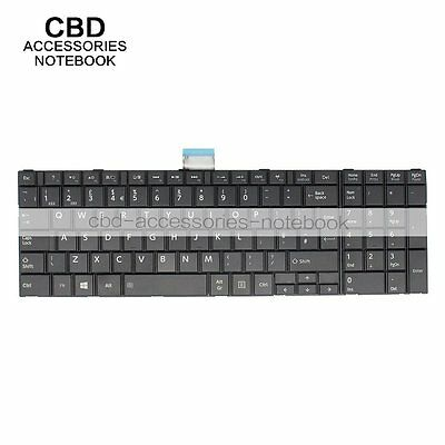 NEW! UK Keyboard Replace For Toshiba C50 C50D  C50D-A C55 C55-A Black