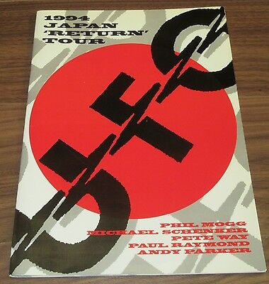 UFO JAPAN tour book 1994  Michael Schenker MSG Phil Mogg - more UFO in stock