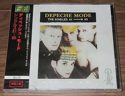 DEPECHE MODE Japan Argentina OFFICIAL CD with OBI still SEALED Singles MUTE