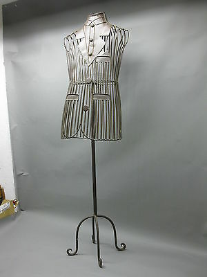 DECOR Tailoring doll Dressboy Dress-up doll Clothes stand 140cm made of Metal
