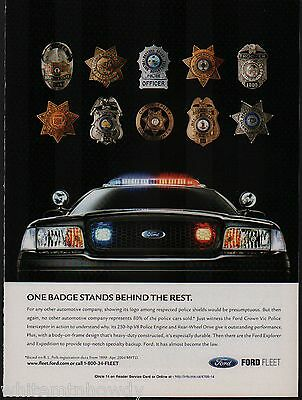 2005 FORD Crown Victoria Police Interceptor Cruiser Law Enforcement Vehicle AD