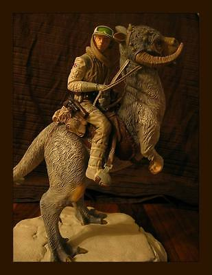 Gentle Giant Ltd Star Wars Luke Skywalker on Tauntaun Hoth Statue