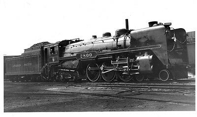 LL612 RP 1939/60s? CP CANADIAN PACIFIC RAILROAD ENGINE #2800 MONTREAL QUEBEC