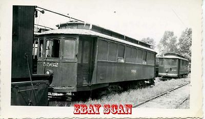 6H610 RP 1940s? PUBLIC SERVICE NEW JERSEY STREETCAR #5562 SCRAPPED GREENVILLE NJ