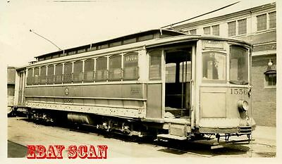 6H638 Rp 1934 Public Service New Jersey Car #1556 Stored Greenville Carhouse