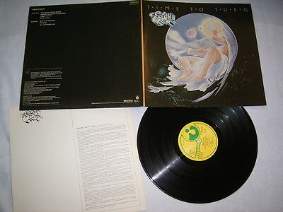 LP - Eloy Time to turn - FOC OIS 1982 Krautrock # cleaned