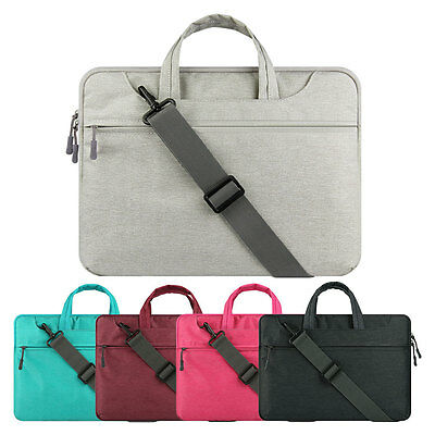 "Laptop Shoulder Bag Messager Carry Case For 11"" 13"" 15"" MacBook Air/Pro 15.6"" PC"