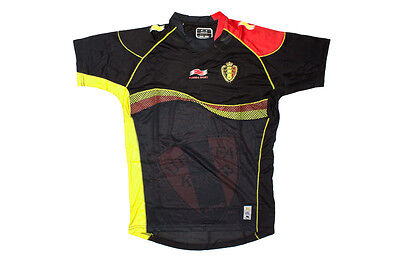 Burrda Belgium 2013/14 Away S/S Football Shirt