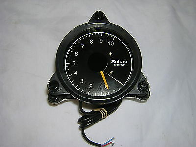 Scitsu Rev-Counter Blue 10 B1 Suitable for 4 Cylinder / 4 Stroke, 2 Stroke Twin.