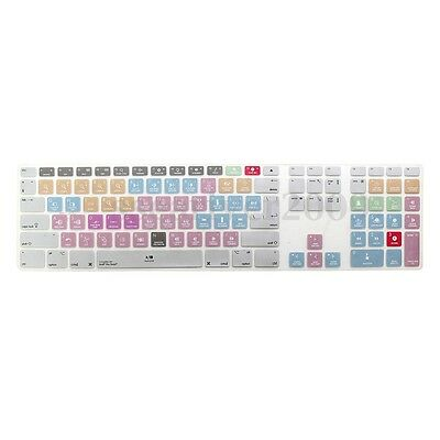 Avid Pro Tools Shortcuts Silicone Keyboard Cover For Numeric Keypad F iMac G6
