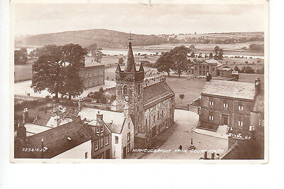 Elevated view of Kirkcudbright from Courthouse