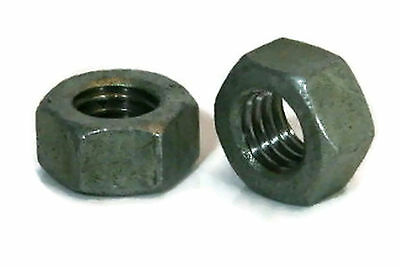 "Hex Finish Nuts Hot Dipped Galvanized -3/8""-16 UNC- Qty-100"
