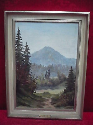 Pretty, old painting__LANDSCAPE__ W.Christen 62_
