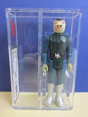 RARE star wars BLUE SNAGGLETOOTH ACTION FIGURE no toe dent UKG not AFA vintage