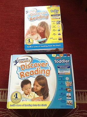 Hooked On Phonics Discovery Reading Baby & Toddler Editions Kits