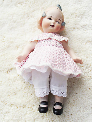 Jeannie Di Mauro Elizabeth Antique Reproduction Doll Huebach Bisque Miniature