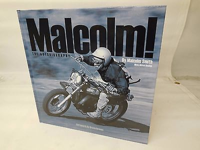 Malcolm Smith The Autobiography Book - Brand New