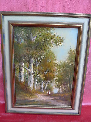 Pretty, Old Painting___Animated LANDSCAPE__Signed : Collande __