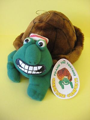 """New - Frank The Tortoise 10"""" Soft Toy From Creature Comforts / Aardman 1994"""