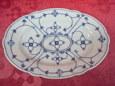 beautiful, antique Bowl (Tray)__Straw Flowers___marked