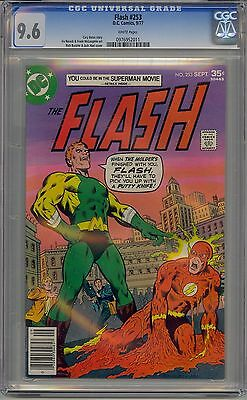 Flash #253 Cgc 9.6 White Pages Dc