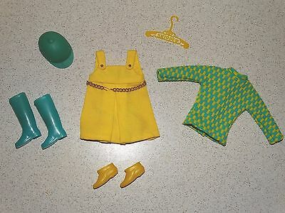 Barbie:  Skipper VINTAGE 99% Complete SEARS CONFETTI CUTIE Outfit!
