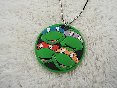 Teenage Mutant Ninja Turtles Pendant Necklace  (A9)