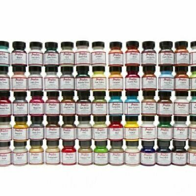 Angelus Acrylic Leather Paint Dye For Purses Jacket Vinyl Sneakers 1z 90 Colors