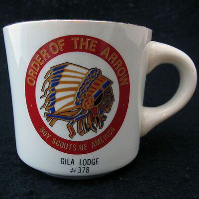 Order of the Arrow Coffee Mug Boy Scouts of America From McCoy Gila Lodge 378
