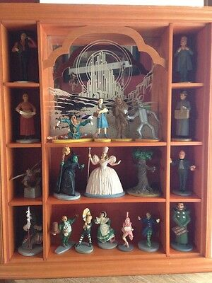 Franklin Mint Wizard Of Oz Figurines Collectibles With Display Case Cards