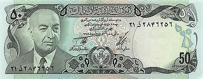 1973 50 Afghanis P-49a Unc