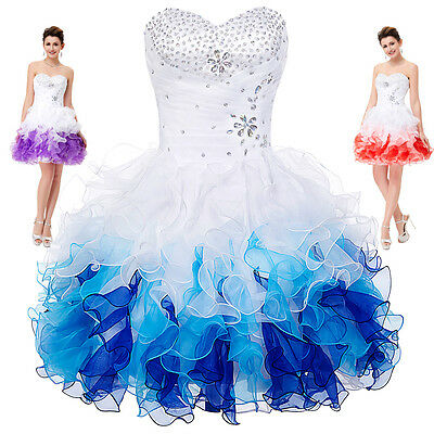 Short/Mini Formal Prom Dress Cocktail Evening Bridesmaid Party Homecoming Dress