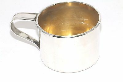 Vintage Sterling Silver Gorham 610 Baby Cup FW 84