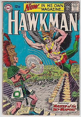 Hawkman #1 G-VG 3.0 Master Of The Sky-Weapons First Issue 1964!!