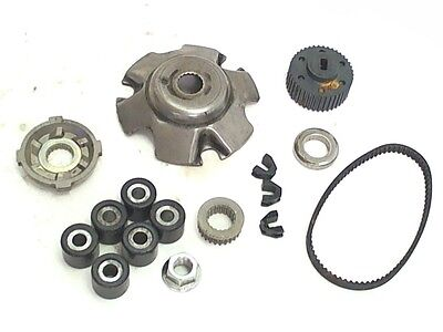 Piaggio Variator Clutch Drive Pulley Parts 2005 Typhoon 50cc Scooter CM1102025