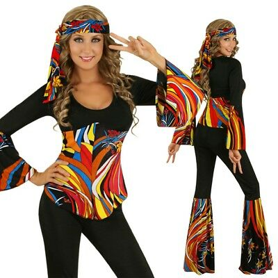 Adult Groovy 70s Retro Costume 1970s Disco Fashion Fancy Dress Party Outfit