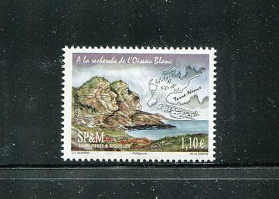 St Pierre & Miqueeleon 914, MNH, 201 Oiseau Blanc Transatlantic Flight. x17016