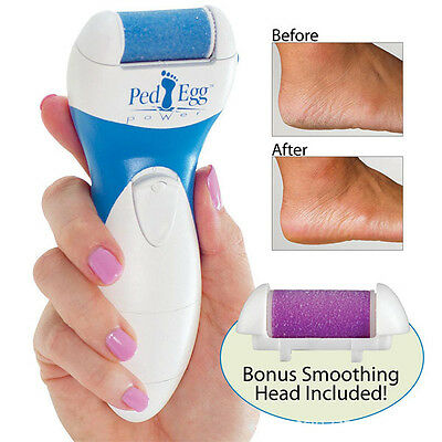 Washable Foot Care Electric Callus Remover File Dry Hard Dead Skin Pedicure Hot