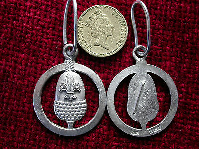 Replica Copy Scout Silver Acorn Medal Full Size Aged -moulded from original