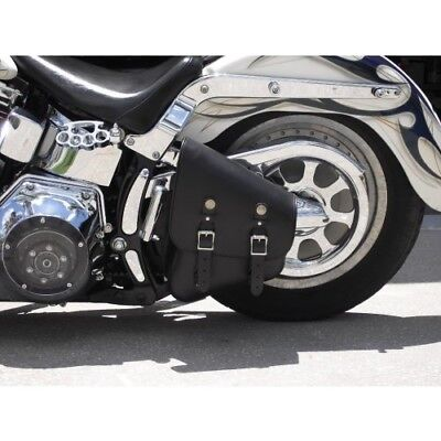 New Harley Style Motorcycle Softail Solo Bag