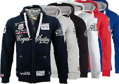 Geographical Norway Sweat Jacke Hoodie Kapuzen Jacke Pullover S-XXL WOW