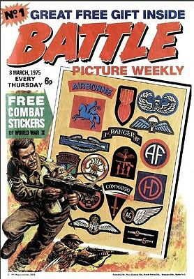 Uk Comics Battle Picture Weekly Collection On Dvd 1-300 + Specials