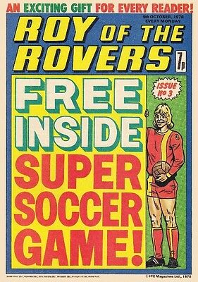 Uk Comics Roy Of The Rovers Collection On Dvd 250+ Issues From 1976-83
